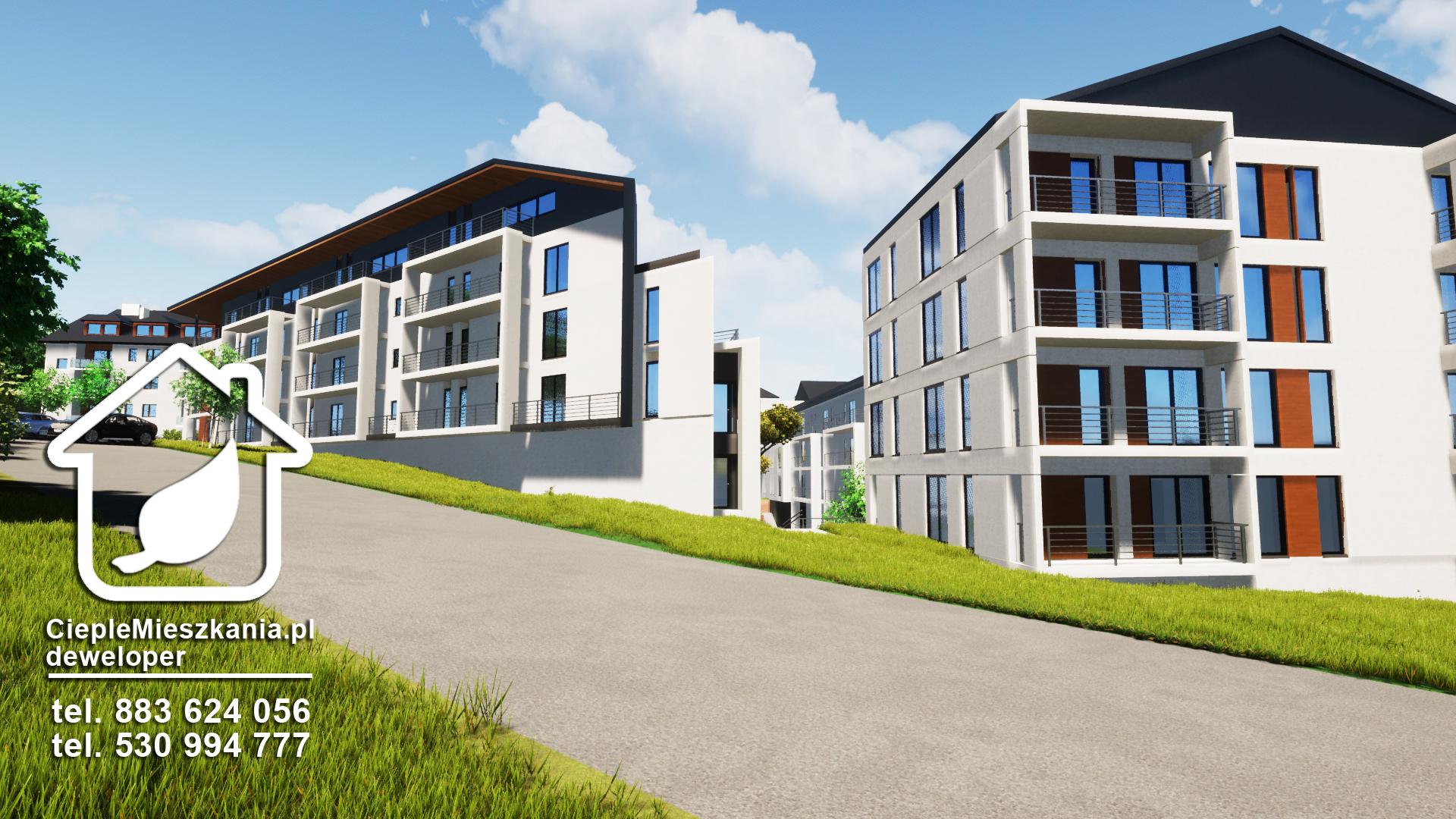 Nowe mieszkania wŁańcucie - osiedle parkowe